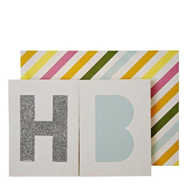 Birthday Banner Greeting Card
